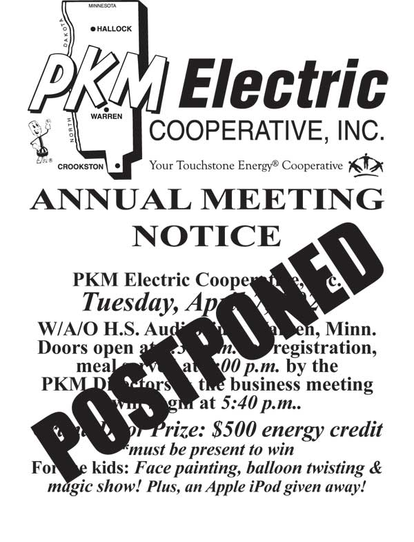With the ever-changing COVID-19 impact, PKM is postponing our Annual Meeting.